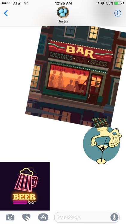 Bar Stickers screenshot-4