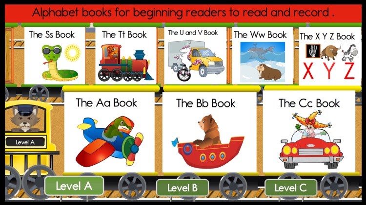 Reading Train Free Alphabet Books, Songs & Games screenshot-0