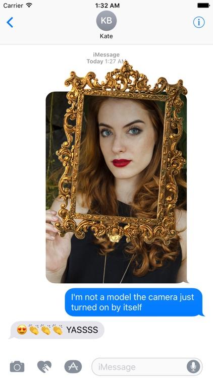 Mirror Mirror - Sticker Frames