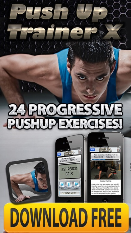 Push-Up Routines PRO+ Muscle Body-Building Workout screenshot-4