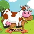 子供向け動物パズル – 教育版 icon