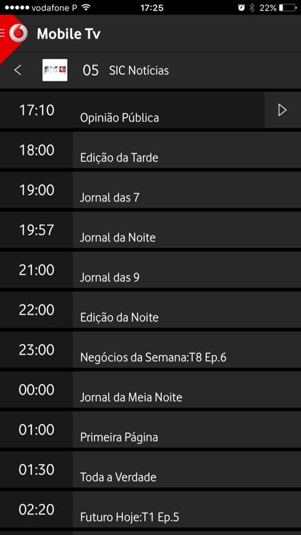 Mobile Tv screenshot-4