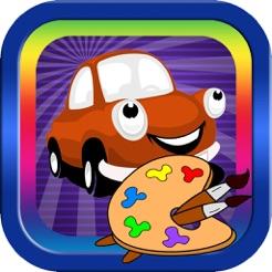 Araba Ve Cocuklar Icin Ulasim Boyama Kitabi App Store Da