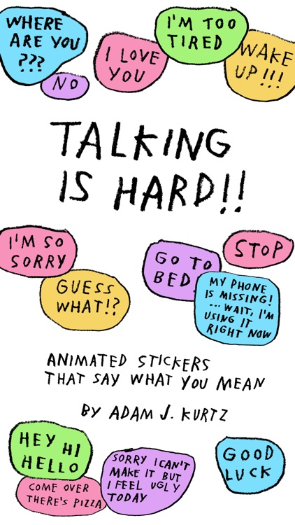 talking is hard