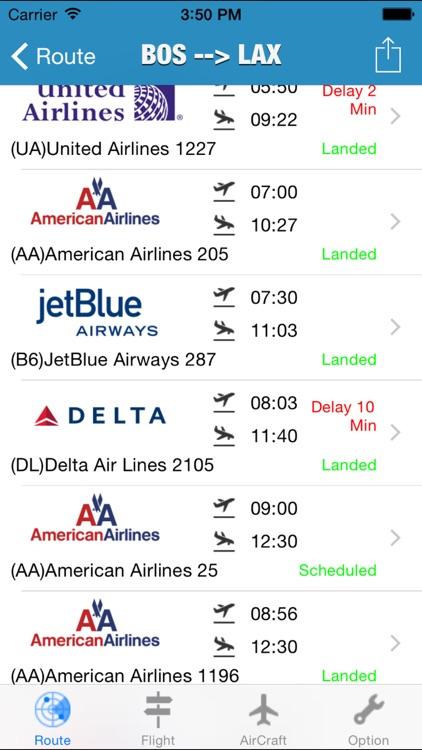 iFlight -- Real-time Flight Tracker