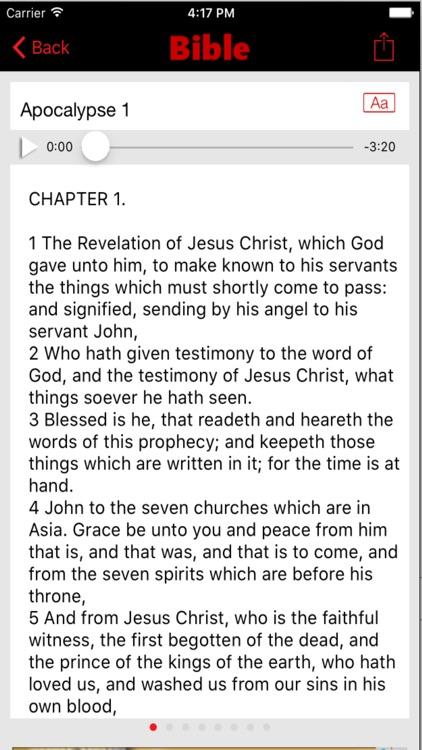 Douay Rheims Challoner Bible (Audio) screenshot-3