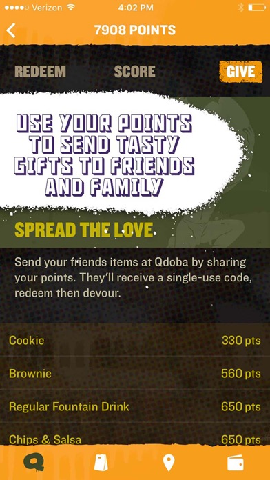 QDOBA Rewards & Ordering for Windows