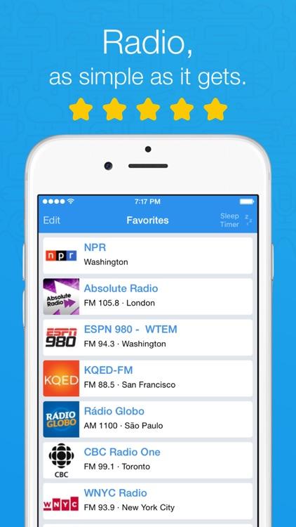 Simple Radio - Live AM & FM Radio Stations app image