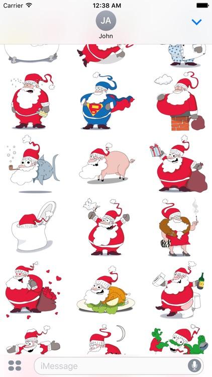 Santa's Stickers