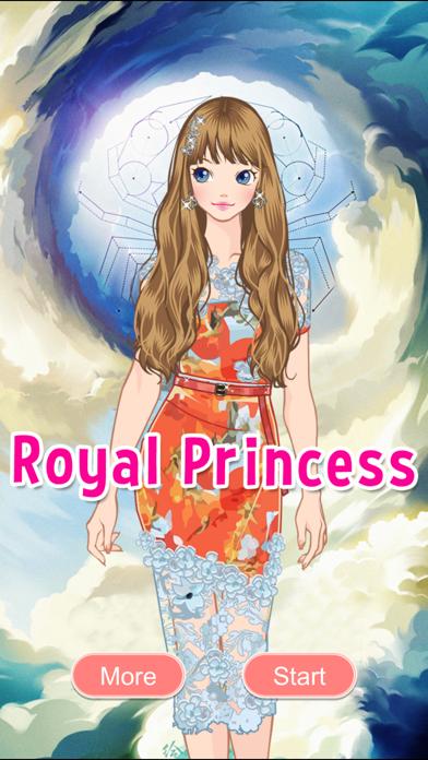 Royal Princess Fashion Star Dress Up & Style