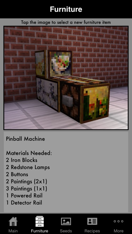 Guidecraft Pro - Furniture, Seeds.. for Minecraft