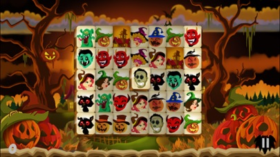 Mahjong Trick or Treat screenshot two