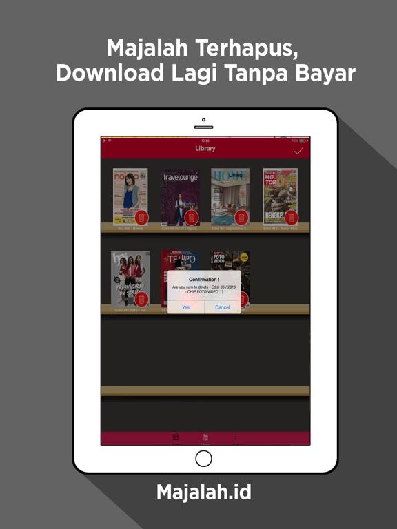 Majalah Indonesia iPad