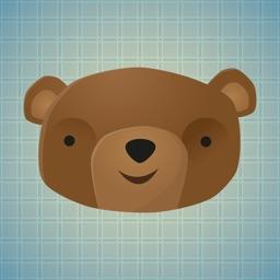 Sticker Me: Bear Faces