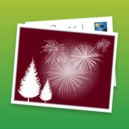 SnapShot Holiday Postcard