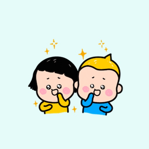 Couple Funny stickers