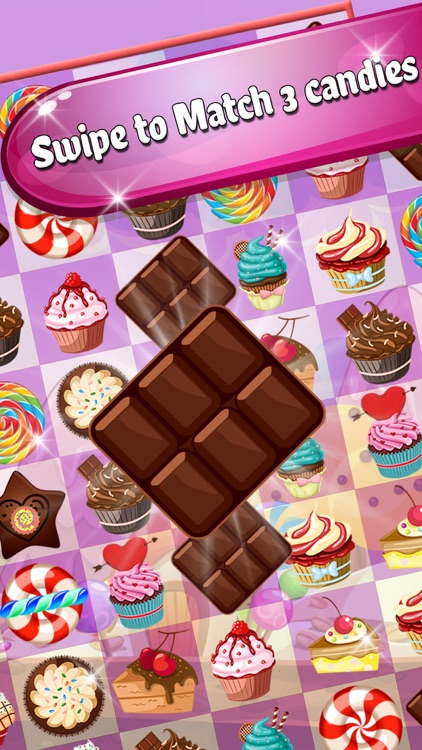 Cake Valley Sweet Blast - Match 3 Cookie Pop Blitz