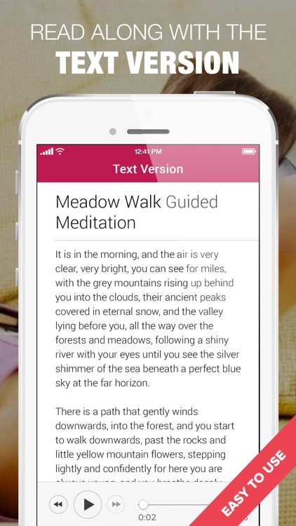 1000 Guided Meditations - Simple Relaxation & Calm screenshot-4