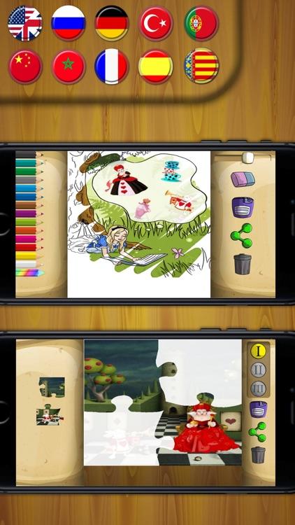 Classic fairy tales 3 interactive book - Premium