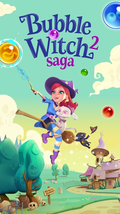 Bubble Witch 2 Saga iPhone