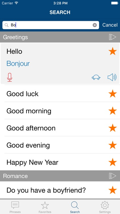 Learn French: Phrases & Words for Travel in France screenshot-3