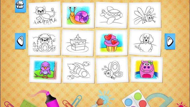 123 Kids Fun COLORING BOOK Educational Color Games screenshot-3
