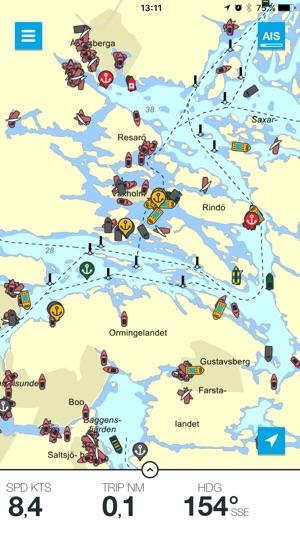 gratis sjökort sverige