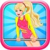 芭比公主平衡木健美操换装游戏
