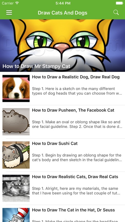 How to draw easy cats and dogs by lvxiang song how to draw easy cats and dogs thecheapjerseys Images