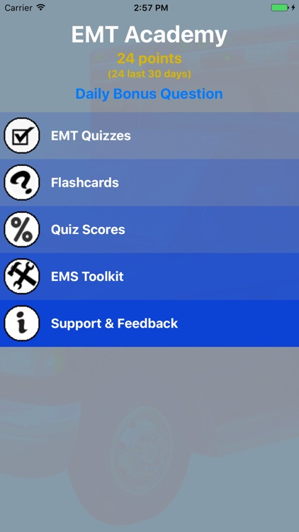 EMT Academy Exam Prep screenshot-1