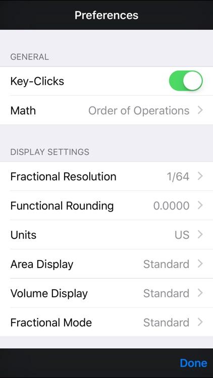 Tradesman Calc Trades Math & Conversion Calculator screenshot-4
