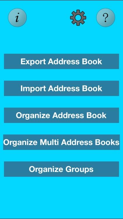 Free Multi Address Book Organizer
