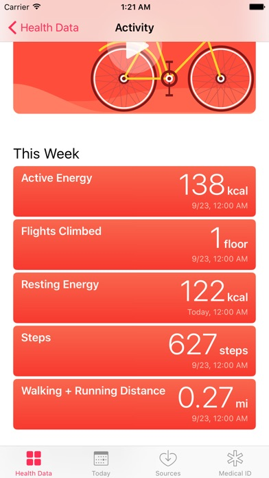 Health Sync for Fitbit screenshot1