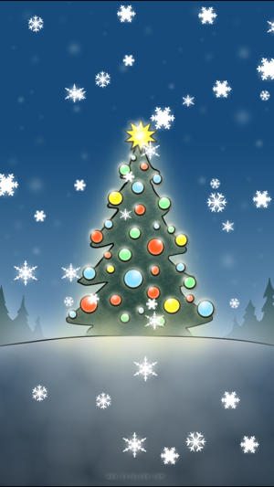 Christmas Slideshow Wallpapers Animated Snow On The App Store