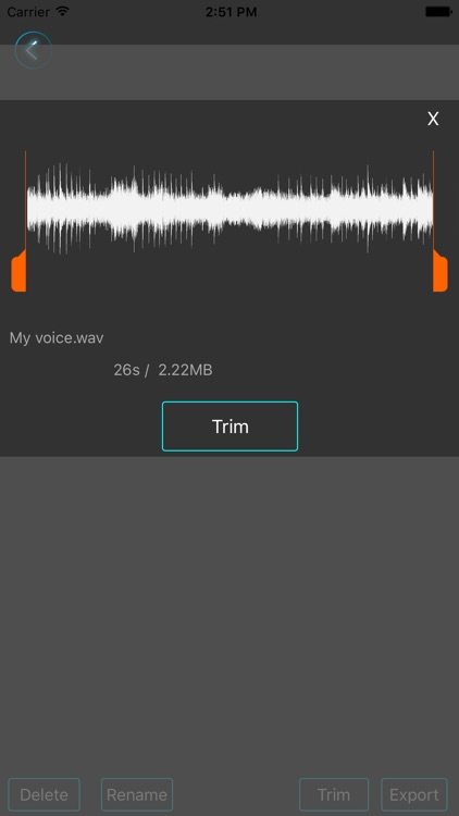 MightyMic Pro Recorder screenshot-3