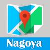 名古屋旅游地鐵gps全球定位零流量日本東京地圖  Nagoya metro JR map guide