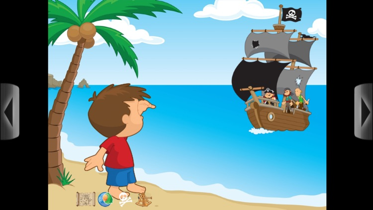 The Day I Became A Pirate - An Interactive Book App for Kids screenshot-1