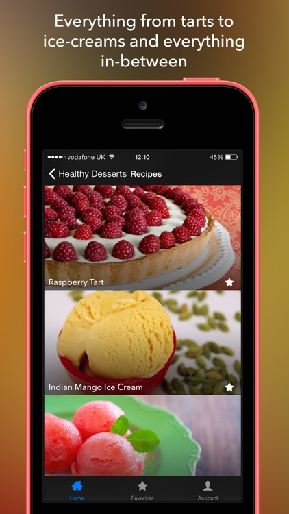 Healthy Dessert Recipes - Low Calorie Clean Diet screenshot-3