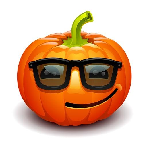 Pumpkin Happy Halloween Sticker