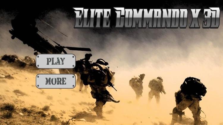 Elite Commando X 3D