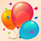 App Icon for Birthday Cards Free: happy birthday photo frame, gift cards & invitation maker App in New Zealand IOS App Store