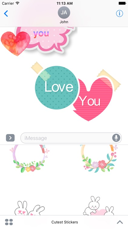 Cutest Stickers For iMessage