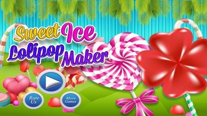 Sweet Ice Lollipop Maker – Making Game screenshot one