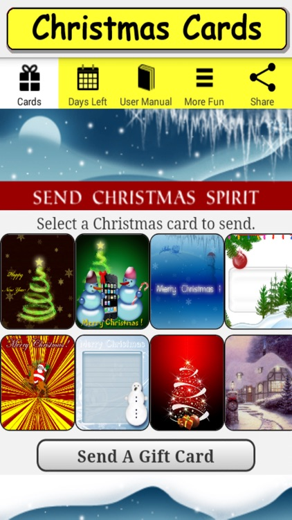 Christmas Cards for iPhone