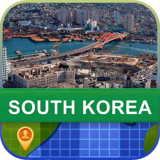 Offline South Korea Map - World Offline Maps