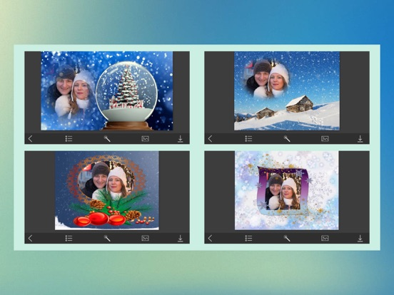 Creative Xmas Frames Instant Photo Frame Maker App Price Drops