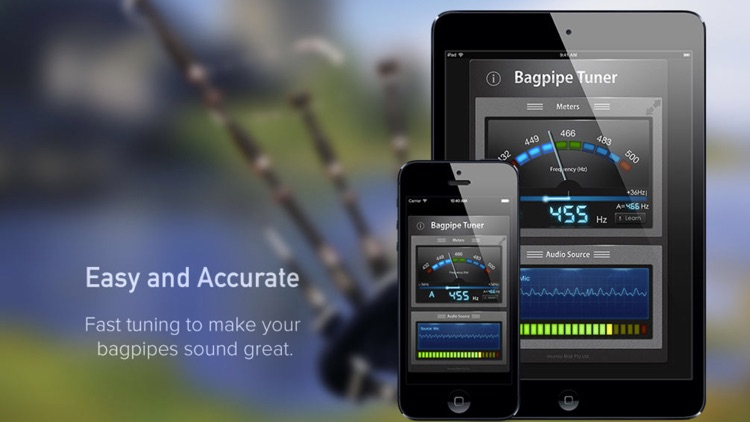 Bagpipe Tuner screenshot-0
