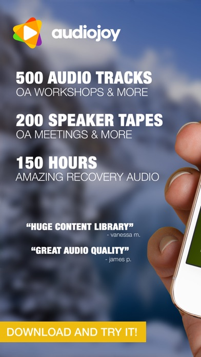 Descargar Overeaters Anonymous Speaker Tapes OA Meetings para Android