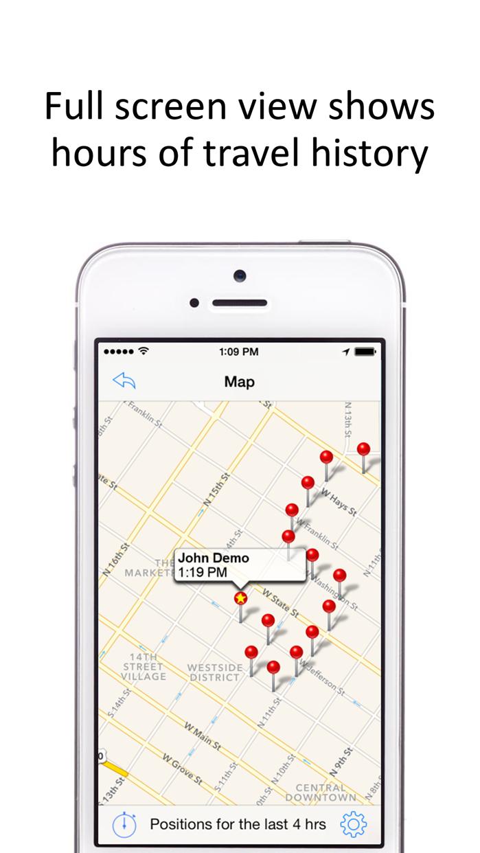 GPS Phone Tracker - GPS Tracking Screenshot