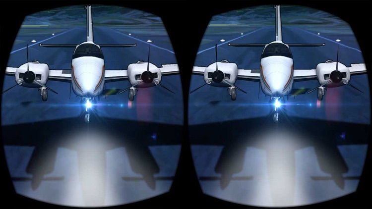 VR Airplane Flight Simulator for Google Cardboard
